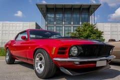Ford mustang. At usa car meeting in Italy Royalty Free Stock Image
