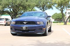 2012 Ford Mustang V6 Stock Foto