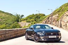 Ford Mustang 5 0 V8 2016 de Dag van de Testaandrijving Stock Afbeelding