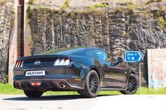 Ford Mustang 5 0 V8 2016 de Dag van de Testaandrijving Stock Fotografie