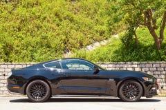 Ford Mustang 5 0 V8 2016 de Dag van de Testaandrijving Stock Afbeeldingen