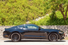 Ford mustang 5 (0) V8 2016 testa Prowadnikowych dni Obrazy Stock