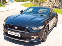 Ford mustang 5 (0) V8 2016 testa Prowadnikowych dni Obrazy Royalty Free