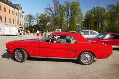 Ford Mustang, Vintage Classic Cars Royalty Free Stock Photo
