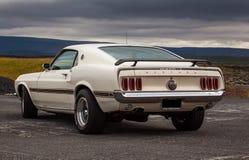 Ford MustangMach 1969 1 Royaltyfri Fotografi
