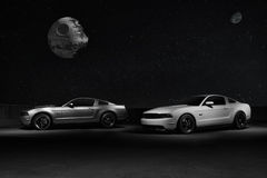 Ford Mustangs Image libre de droits