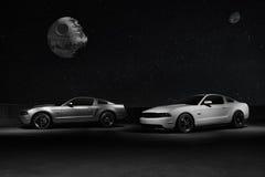 Ford Mustangs Immagine Stock Libera da Diritti