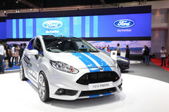 Ford New Fiesta car on display Stock Photo