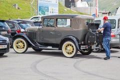Ford Oldtimer anno 1930 Arkivfoto