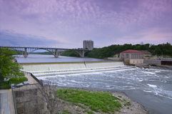 Ford Parkway Bridge and Dam Stock Photos