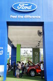 Ford Pavilion, BOI Fair 2012 Thailand Stock Photo