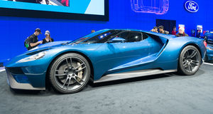 Ford Performance GT Imagem de Stock Royalty Free