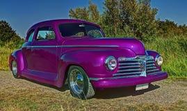 Ford Plymouth Club Coupe 1942 en HDR Foto de archivo libre de regalías