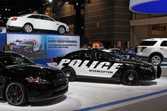 Ford Police Interceptor 2011 Royalty Free Stock Photos
