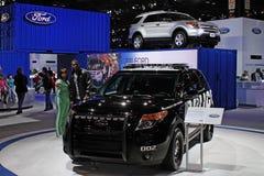Ford Police Interceptor 2011 Royalty Free Stock Photo