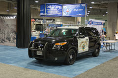 Ford Police Interceptor Royalty Free Stock Photos