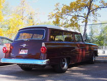 Ford Ranch Wagon restaurado obra clásica Foto de archivo