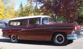Ford Ranch Wagon restaurado obra clásica Fotos de archivo