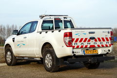 Ford Ranger -  Almere local municipal law enforcement vehicle Stock Photos