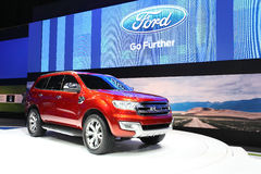 Ford Ranger car on display Royalty Free Stock Photo
