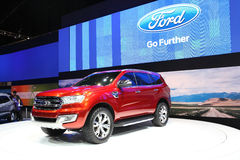 Ford Ranger car on display Royalty Free Stock Photography
