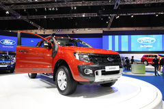 Ford Ranger car on display Royalty Free Stock Images