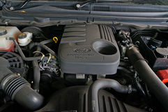 Ford Ranger engine Royalty Free Stock Photo