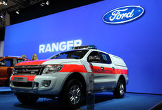 Ford Ranger life-guard pickup Stock Photo