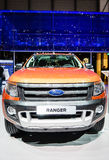 Ford Ranger, Motor Show Geneva 2015. Stock Image