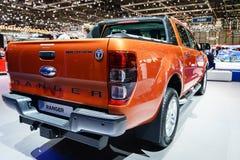 Ford Ranger, Motor Show Geneva 2015. Royalty Free Stock Image