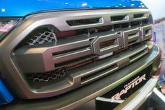 Ford Ranger Raptor em Kuala Lumpur Motor Show fotografia de stock