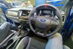 Ford Ranger Raptor em Kuala Lumpur Motor Show imagem de stock