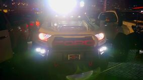 Ford ranger raptor pick up at Bumper to Bumper car show in Pasay, Philippines