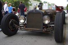 Ford Rat Rod 1926 aux voitures d'exposition Front View Image libre de droits