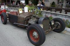 Ford Rat Rod 1926 en los coches de la demostración Foto de archivo libre de regalías