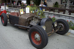 Ford Rat Rod 1926 på showbilarna Royaltyfri Foto