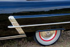 1953 Ford Rear Quarter Panel Detail Royalty Free Stock Image