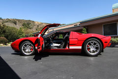 Ford Red GT Foto de Stock Royalty Free