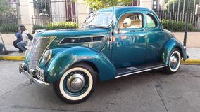 Ford Retro Super Deluxe 1948 stock photos