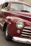 1948 Ford rojo Fotografía de archivo libre de regalías