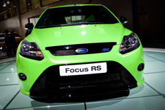 Ford RS at Moscow International exhibition Royalty Free Stock Image