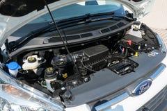 Ford samochodu 2017 Przelotowego testa Prowadnikowy dzień Zdjęcie Royalty Free