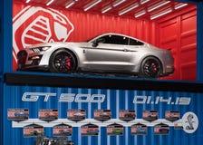 Ford Shelby Cobra Mustang GT500 fotografia stock libera da diritti