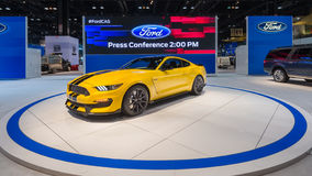 Ford Shelby GT350 mustang Obrazy Royalty Free