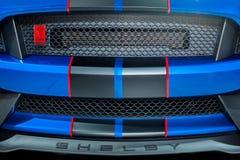 2017 Ford Shelby mustanga GT350R grill Zdjęcie Stock