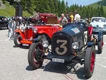 Ford Special and Morgan MG Plus Four Stock Photo