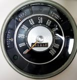 68 Ford Speedometer Stockbilder