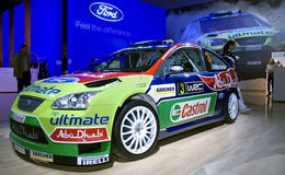 Ford sport car. At the Moscow International Automobile Salon, motor show (MIAS-2008) August 27 - September 7 Stock Image