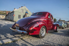 Ford Standard Coupe Street Rod 1939 Images stock