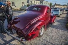 Ford Standard Coupe Street Rod 1939 Lizenzfreie Stockbilder